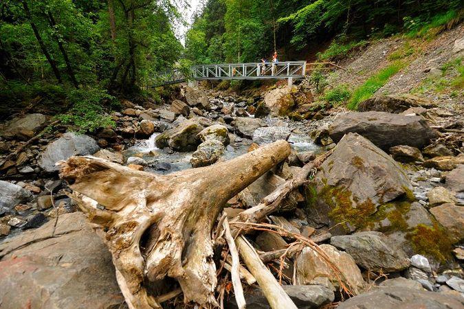 Aa gorge trail-Lutersee-Engelberg