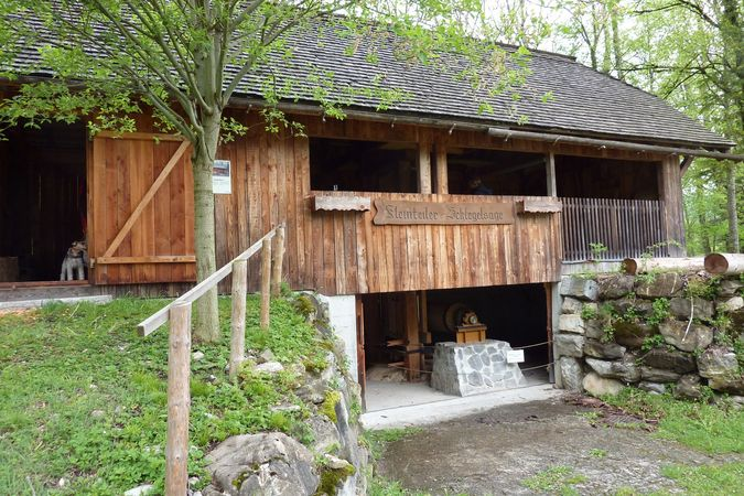 Giswil water-powered sawmill