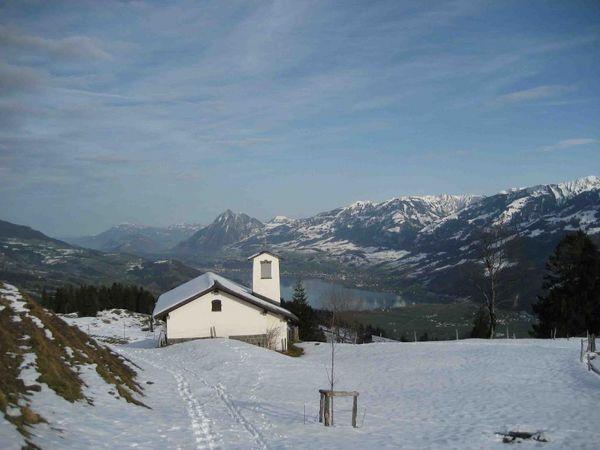 Winterwanderung Mörli-Wald