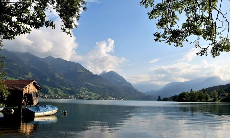 Gastro walk on Lake Sarnen