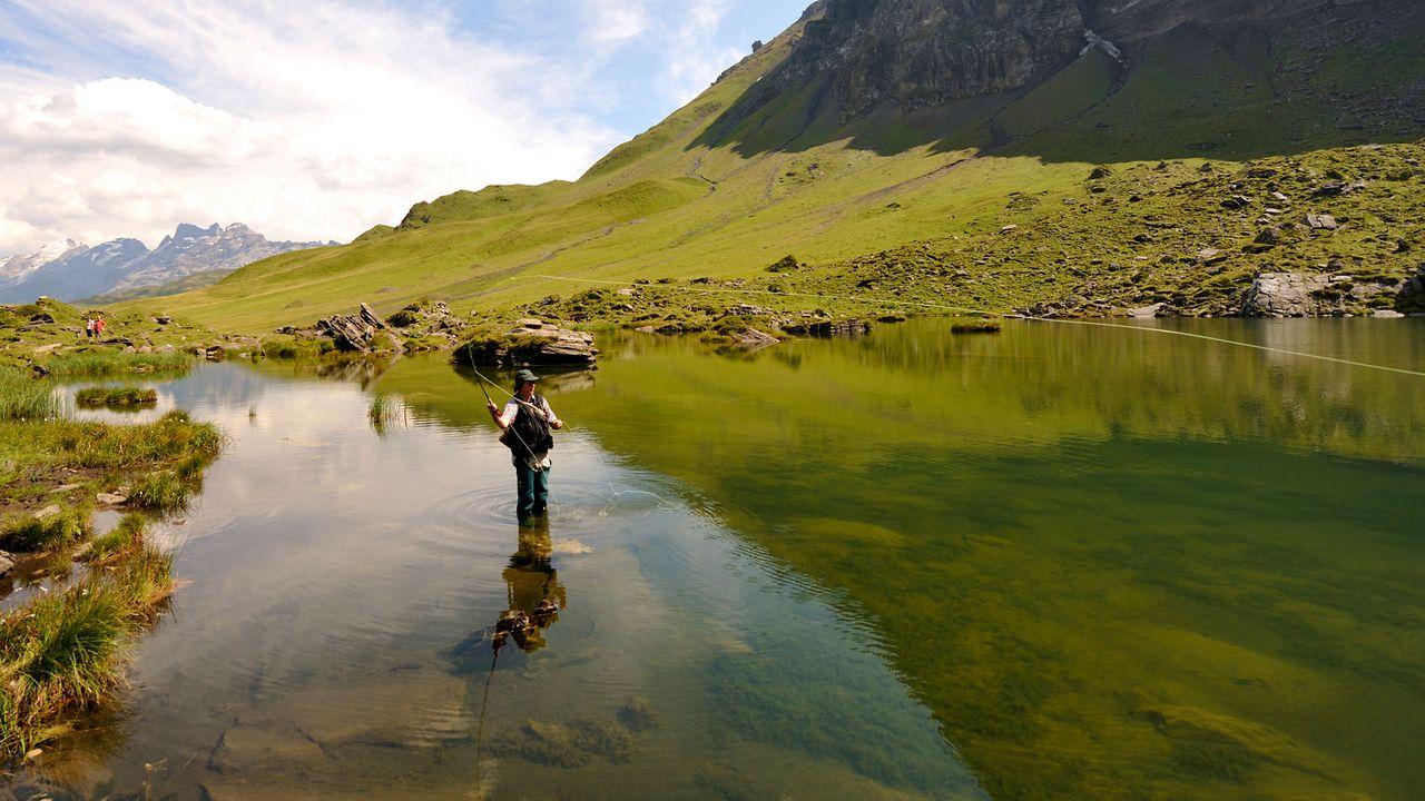 Fishing weeks at Melchsee-Frutt