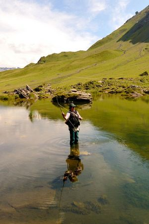 Fishing weeks at Melchsee-Frutt