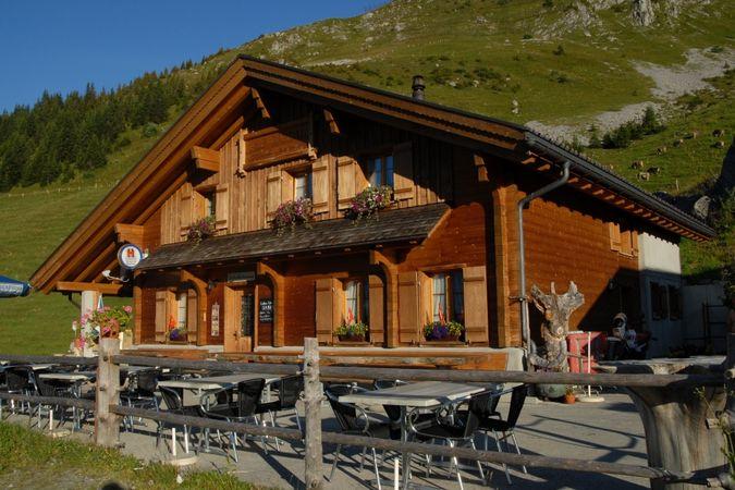 Alp hut Rigidal
