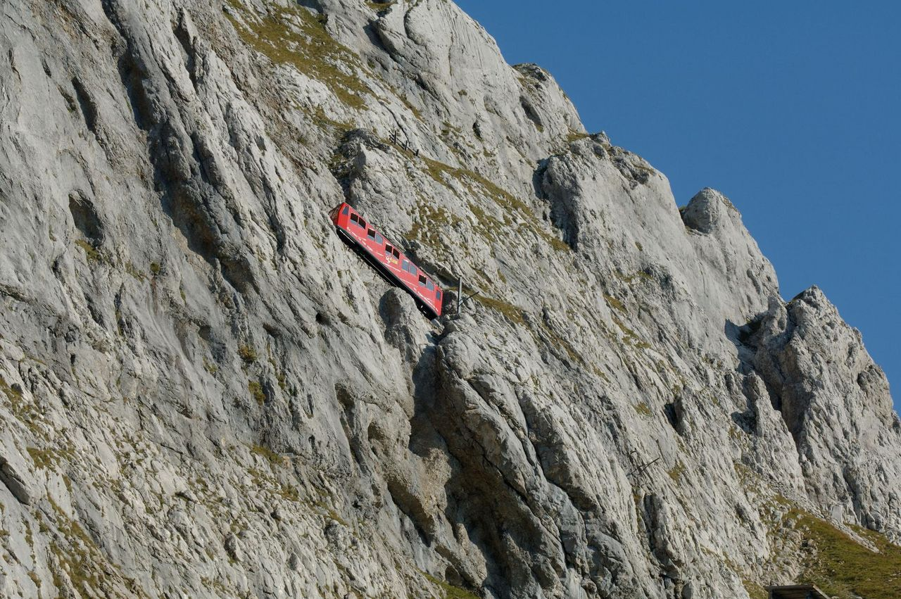 Pilatus – the world's steepest cogwheel railway