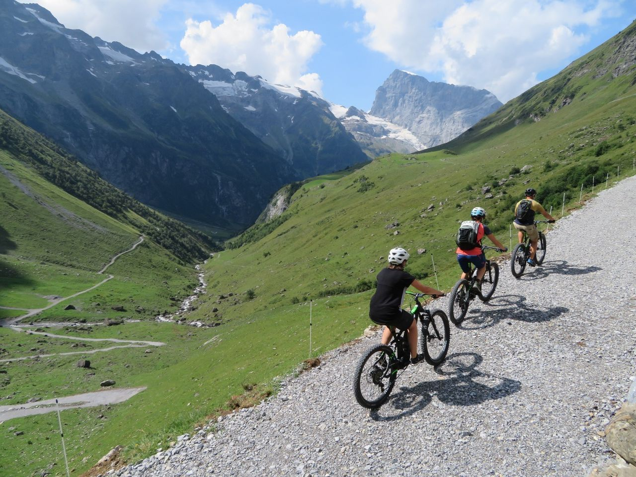 Alpine Cheese Trail by e-bike, Blackenalp section
