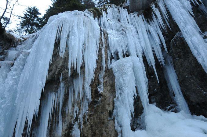 Winterwanderweg kleine Melchaaschlucht