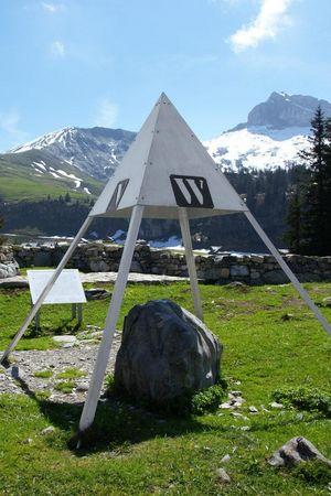 Älggialp - Mittelpunkt der Schweiz