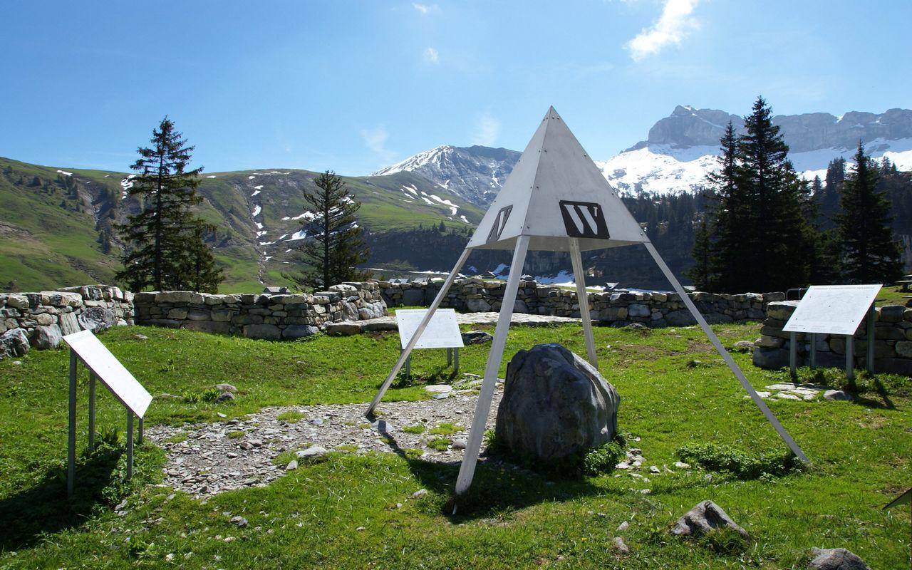Älggialp – geographical centre of Switzerland