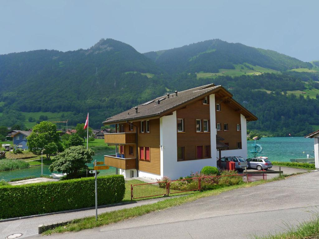 Ferienwohnung Wohnung Grün