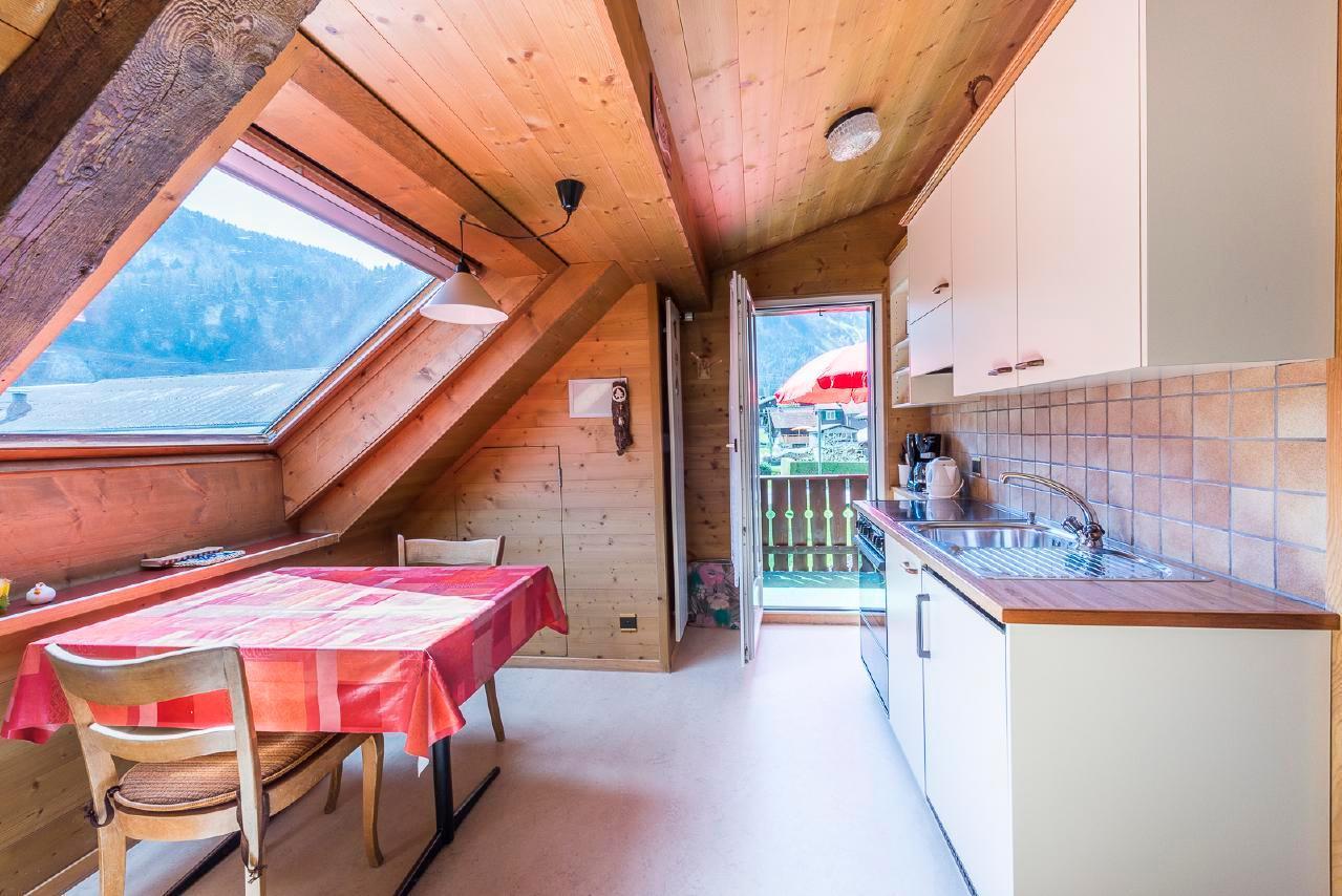 Sonnige Dachwohnung im schönen Lungern