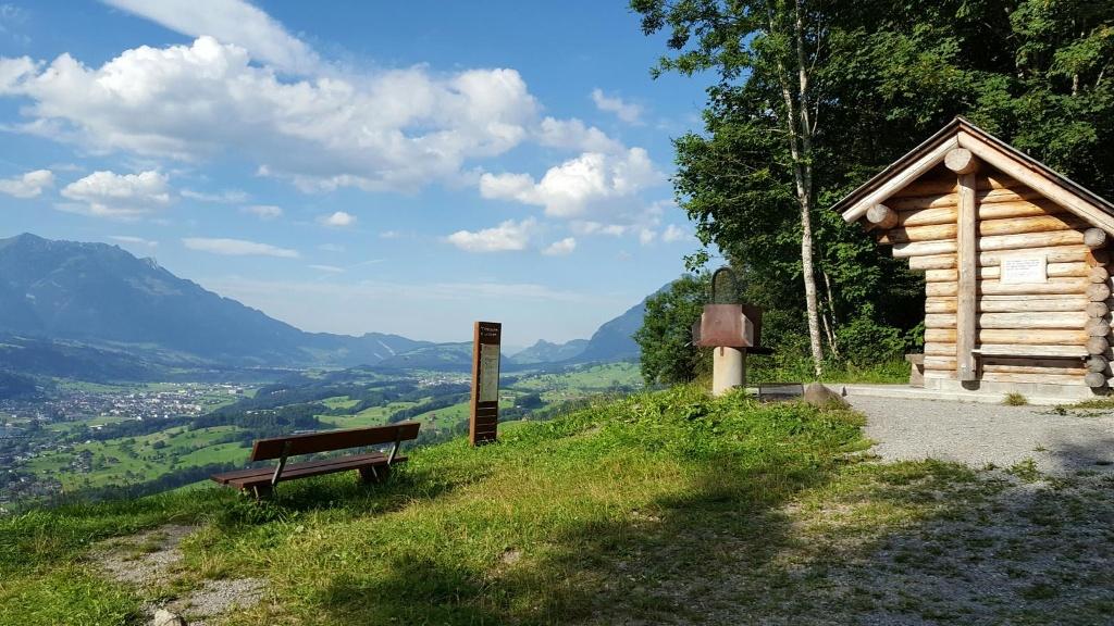 Mittelpunkt Obwalden (Glotersegg)